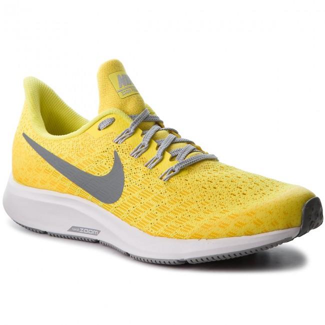 9088a141568 Shoes NIKE - Air Zoom Pegasus 35 (GS) AH3481 700 Dynamic Yellow Cool ...