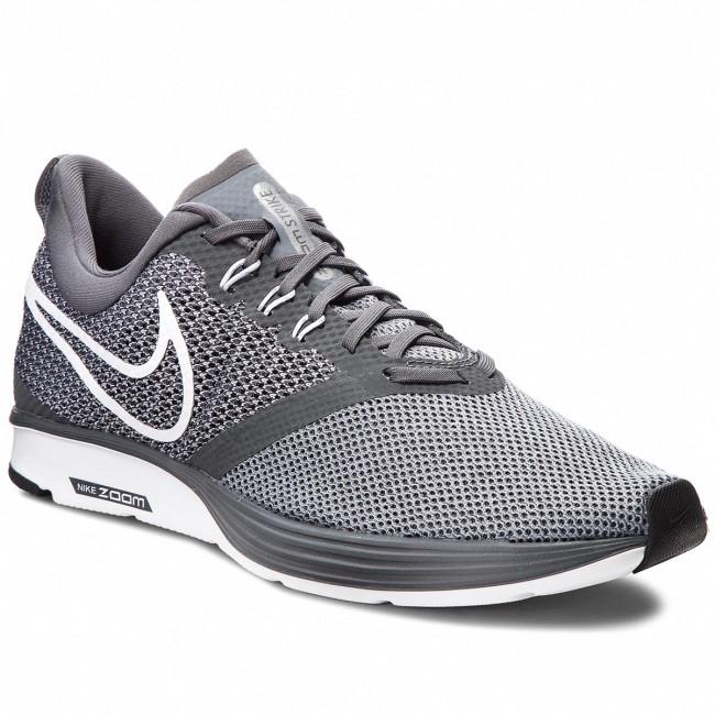 a60f76d9a3562 Shoes NIKE - Zoom Strike AJ0189 002 Dark Grey White Stealth Black ...