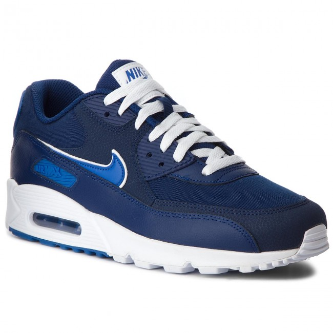 fb33f792bf8 Shoes NIKE - Air Max 90 Essential AJ1285 401 Blue Void Game Royal White