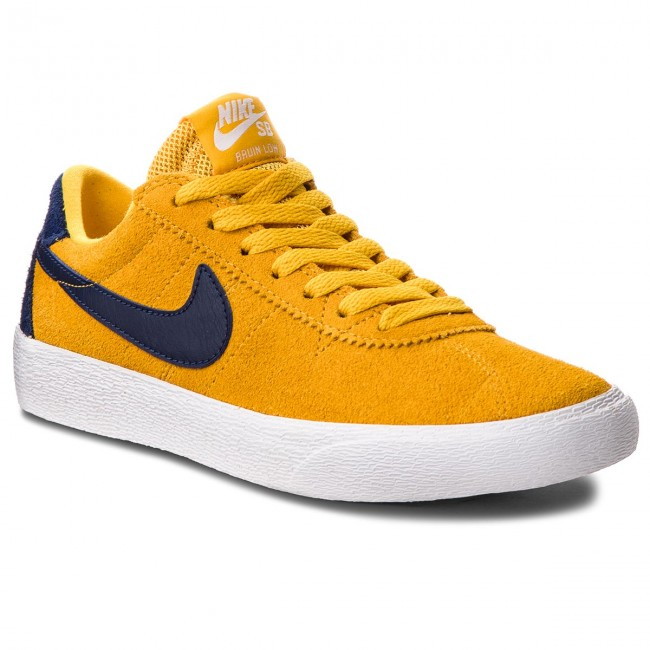 b3488043ff6c Shoes NIKE - Sb Bruin Low AJ1440 700 Yellow Ochre Blue Void White ...