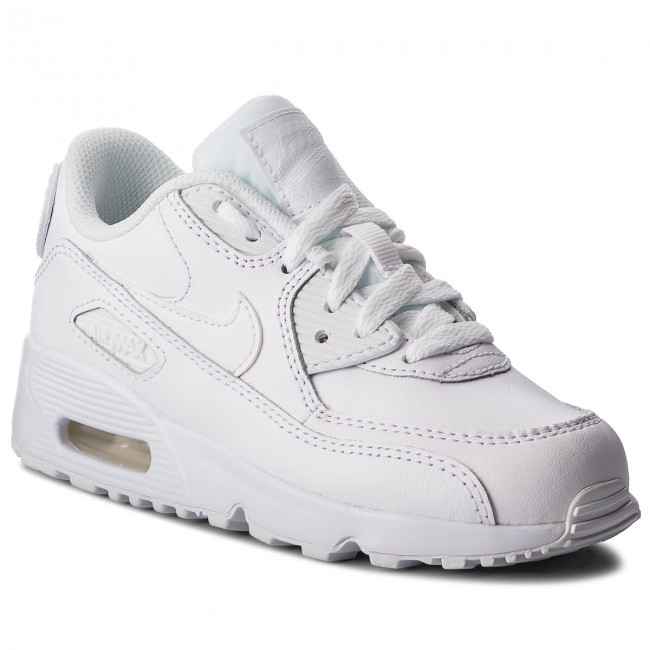 best service 05ade 20f66 Shoes NIKE - Air Max 90 Ltr (PS) 833414 100 WhiteWhite
