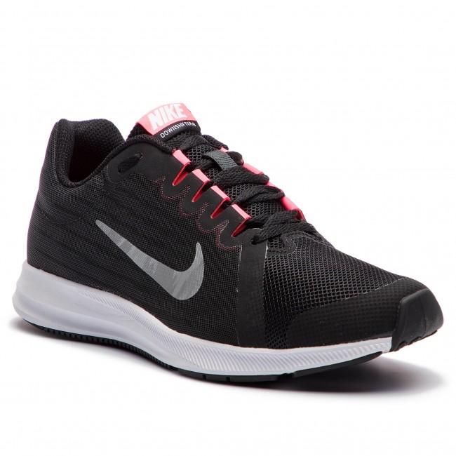 buy popular 937d5 437f3 Shoes NIKE - Downshifter 8 (GS) 922855 001 BlackMetallic Silver