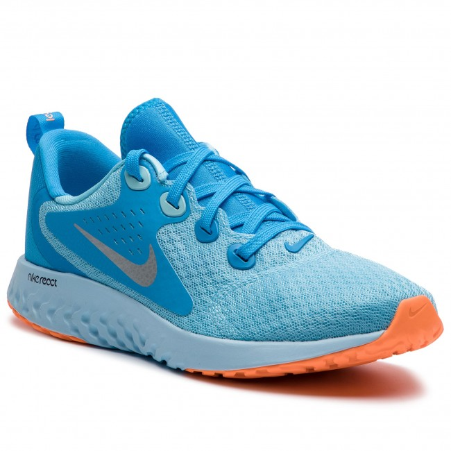 huge discount 27554 67544 Shoes NIKE - Legend React (GS) AH9437 400 Blue ChillMetallic Silver