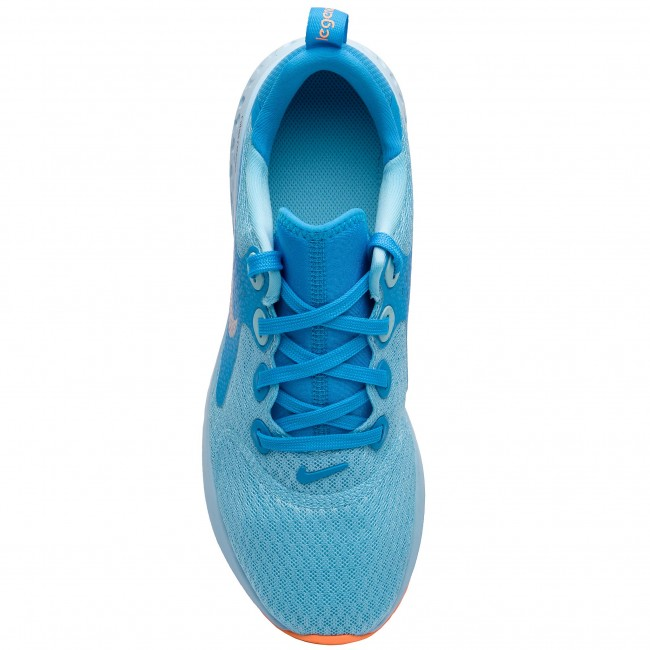 6d04323fba0249 Shoes NIKE - Legend React (GS) AH9437 400 Blue Chill Metallic Silver -  Indoor - Running shoes - Sports shoes - Women s shoes - www.efootwear.eu