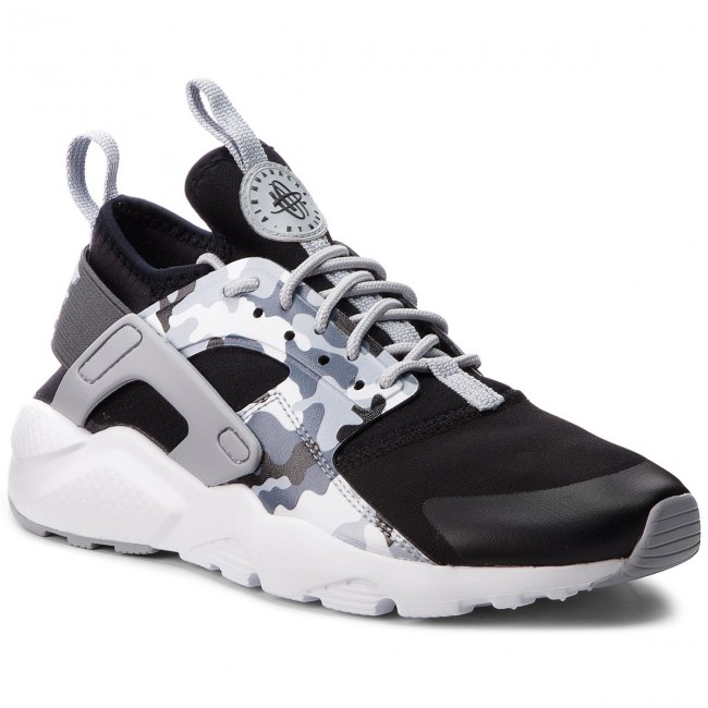 140016abcf70 Shoes NIKE - Air Huarache Run Ultra Prt Gs AQ9038 001 Black Wolf ...
