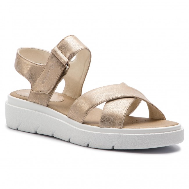 Sandals GEOX - D Tamas E D92DLE 000PV C6738 Lt Taupe - Casual ... 49f3360cd01
