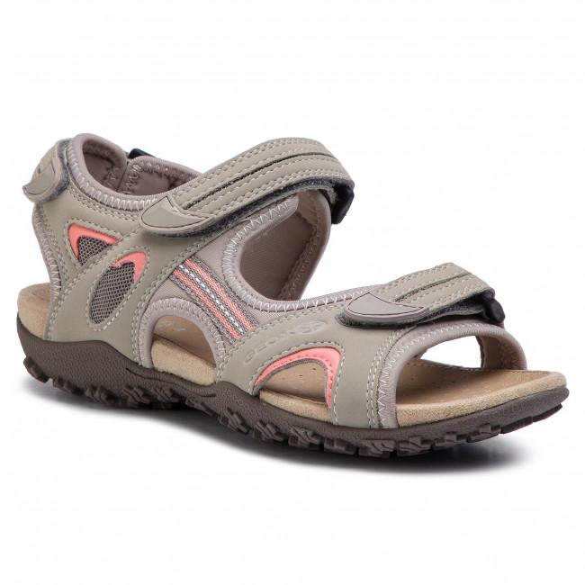 e4aa7436d25b6a Sandals GEOX - D Sand.Strel B D9225B 0EK15 C1010 Lt Grey - Casual ...