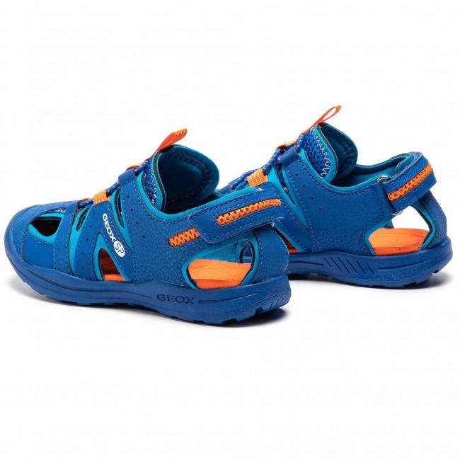 bbd2413b Sandals GEOX - J Vaniett B. A J925XA 05014 C0685 S Royal/Orange ...