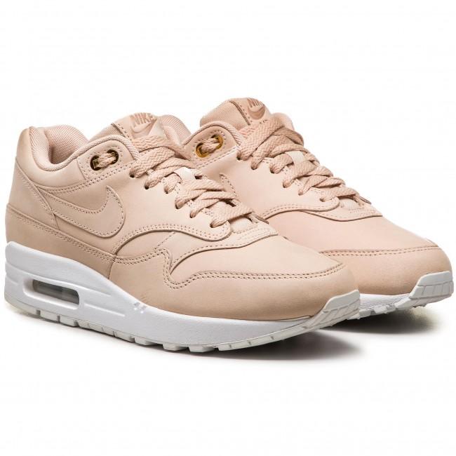 newest d8828 419d9 Shoes NIKE - Air Max 1 Prm 454746 207 Bio Beige Bio Beige White - Sneakers  - Low shoes - Women s shoes - www.efootwear.eu