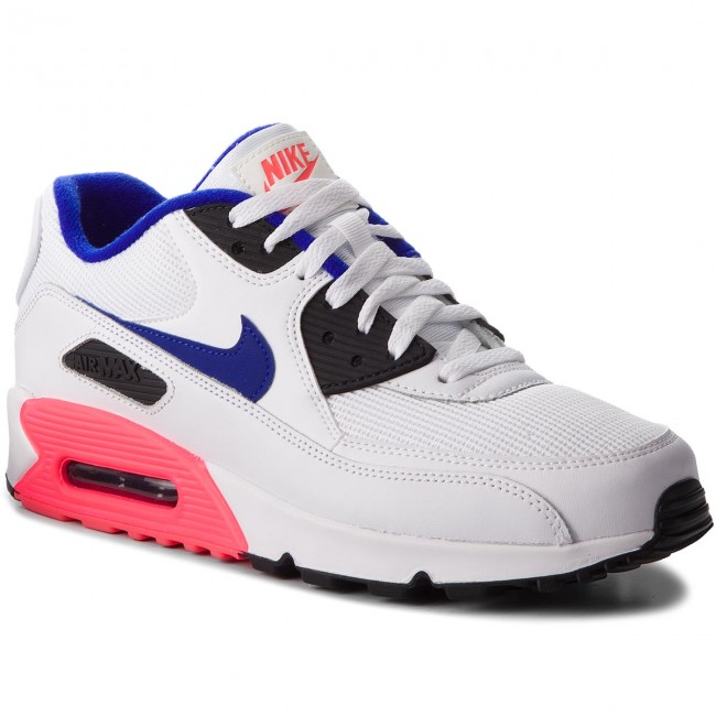 6478a432c7 Shoes NIKE - Air Max 90 Essential 537384 136 White/Ultramarine/Solar ...