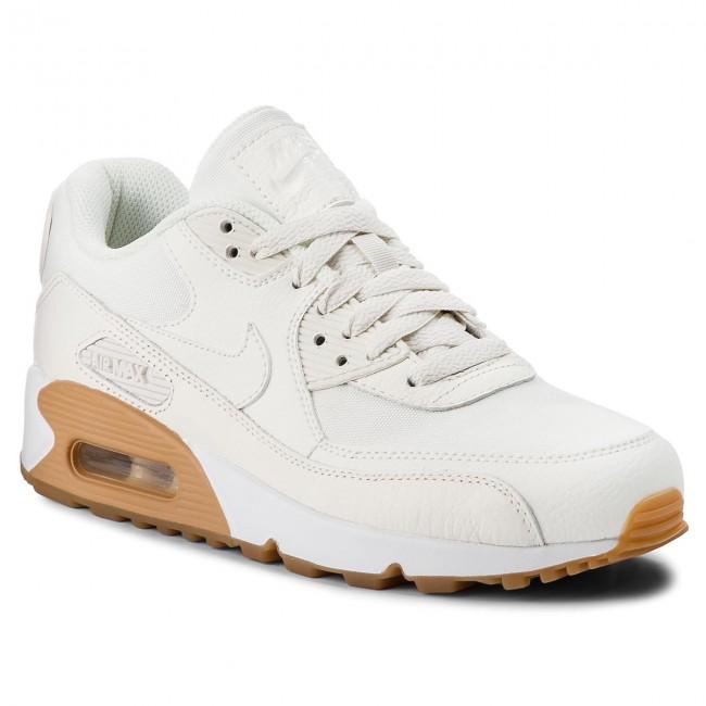 new style 392d3 94f29 Shoes NIKE - Air Max 90 Prm 896497 100 Sail Sail Gum Light Brown