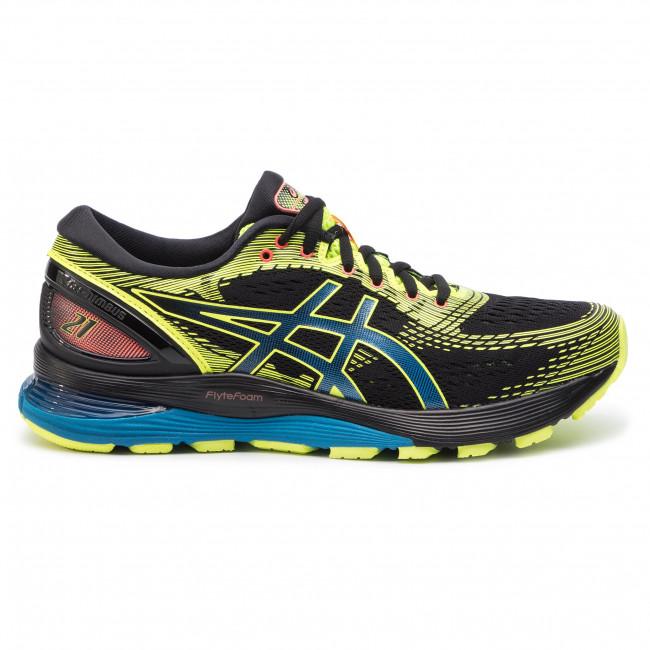 92c3f7a8f Shoes ASICS - Gel-Nimbus 21 Sp 1011A589 Black Safety Yellow 001 ...