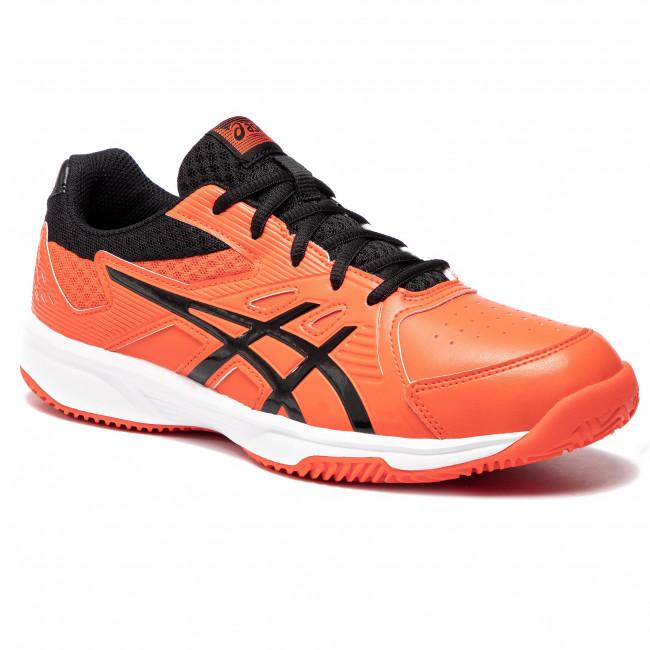 Shoes Clay 808 1041a036 Tomatoblack Court Asics Slide Cherry fYb76gy