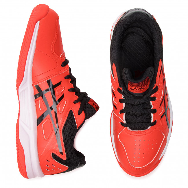 Shoes ASICS Court Slide Clay Gs 1044A006 Cherry TomatoBlack 808