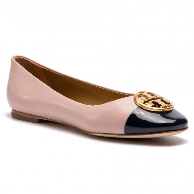 80399b192255 Flats TORY BURCH - Chelsea Cap-Toe Ballet 46882 Sea Shell Pink ...