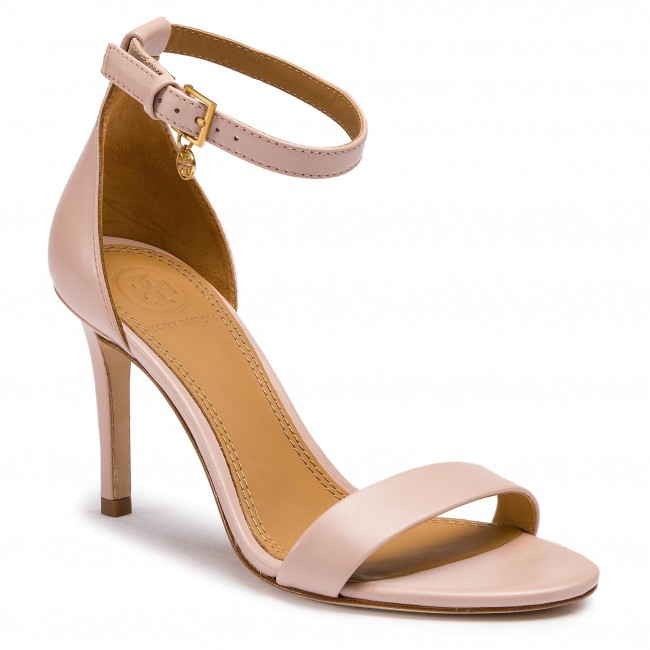 b206fdfd503 Sandals TORY BURCH - Ellie 85mm Ankle-Strap 49348 Sea Shell Pink 654 ...
