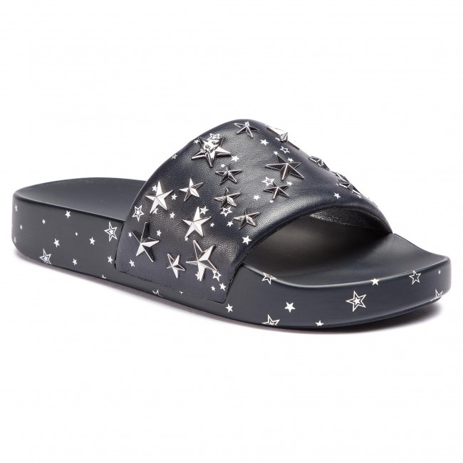 d54373e87d56 Slides TORY BURCH - Star Slide 52143 Perfect Navy Silver 403 ...