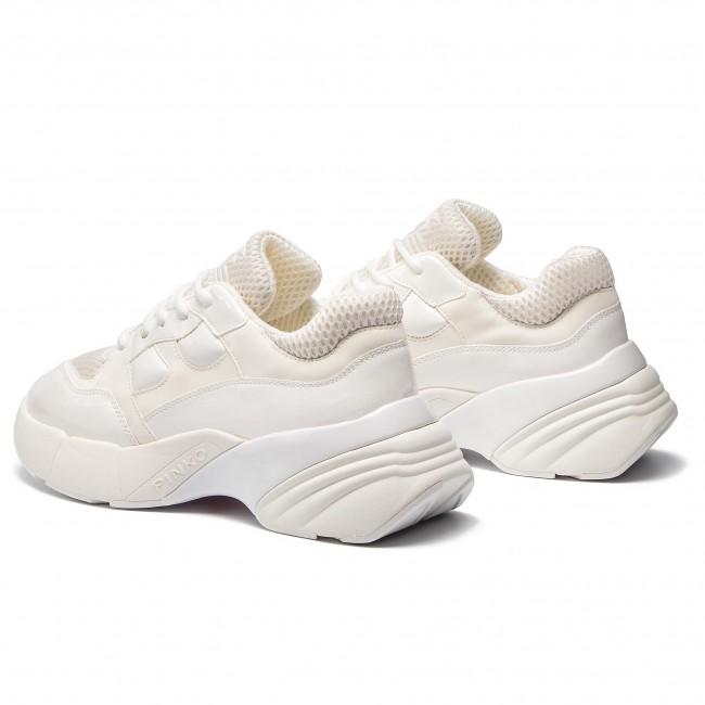 ac0b08c0c80 Sneakers PINKO - Rubino Sneaker PE 19 BLKS1 1H20LS Y5BP White Z04 ...