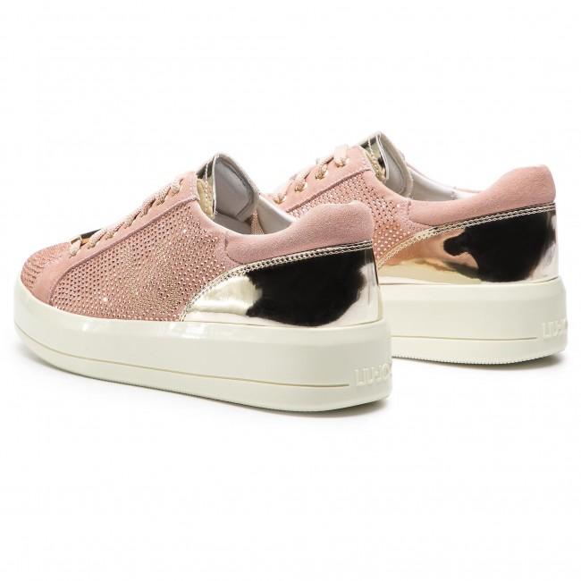 Sneakers LIU JO - Kim 07 B19015 TX011 Peach 31406 - Sneakers - Low ... 3cef346cc00