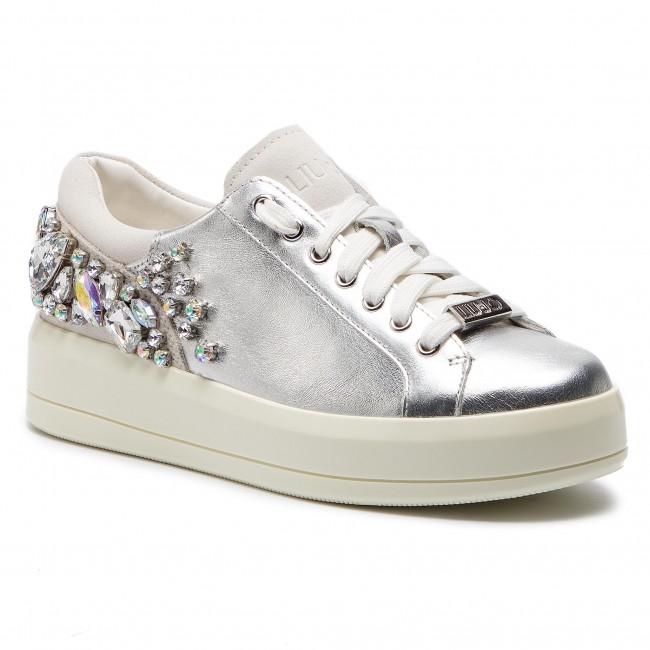 c10773bf7f0 Sneakers LIU JO - Kim 08 B19017 P0291 Silver 00532 - Sneakers - Low ...