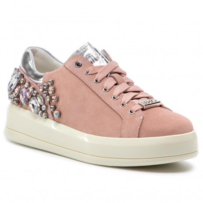 Sneakers LIU JO - Kim 08 B19017 PX002 Peach 31406 - Sneakers - Low ... 4c7d216b5b2