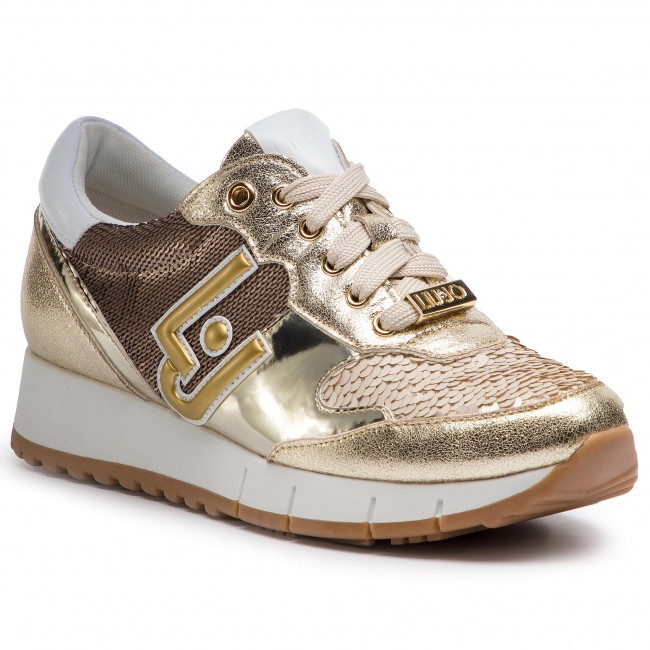 d224f2beade Sneakers LIU JO - Gigi 02 B19019 EX006 Light Gold 04178 - Sneakers ...