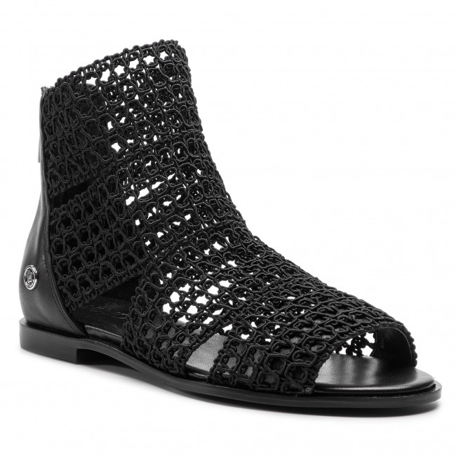 Sandals LIU JO - Susan 09 S19033 TX043 Black 22222 - Casual sandals ... 998cb1e5450
