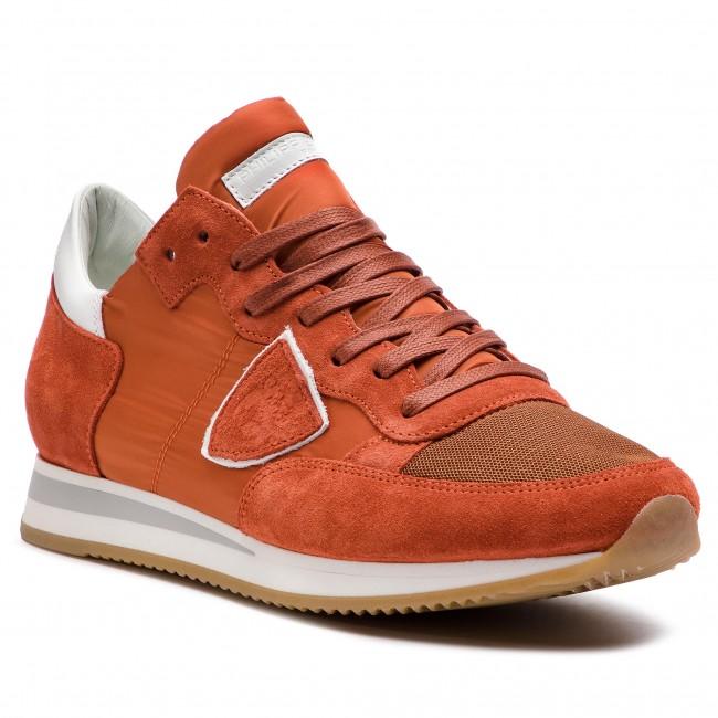 MODEL Sneakers Mondial W076 Sneakers TRLU PHILIPPE Orange Tropez 4xwz7q5