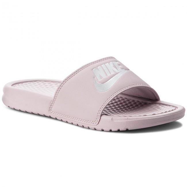 3f428aaca Slides NIKE - Benassi Jdi 343881 614 Particle Rose/Metallic Silver - Casual  mules - Mules - Mules and sandals - Women's shoes - efootwear.eu