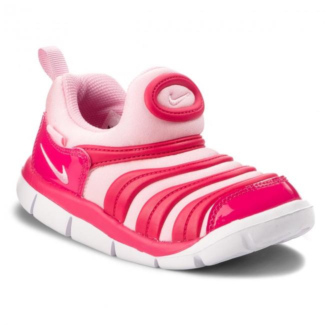 Shoes NIKE - Dynamo Free (TD) 343938 626 Rush Pink Pink White ... b1f51741d1