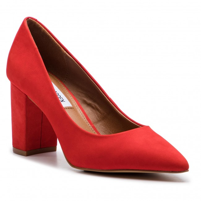 0e467c4b9fe Shoes STEVE MADDEN - Ashlyn SM11000211-03003-604 Red Nubuck - Heels ...