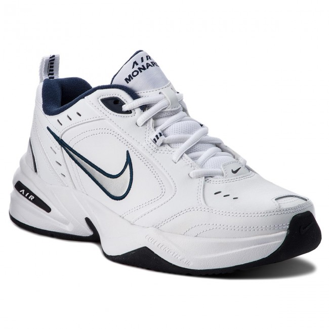 Shoes NIKE - Air Monarch IV 415445 102 White Metallic Silver ... ae27c91d1