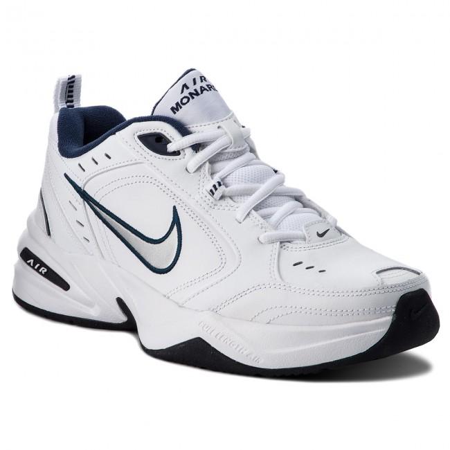 low priced 8bbbc 0cc41 Shoes NIKE. Air Monarch IV 415445 102 White Metallic Silver