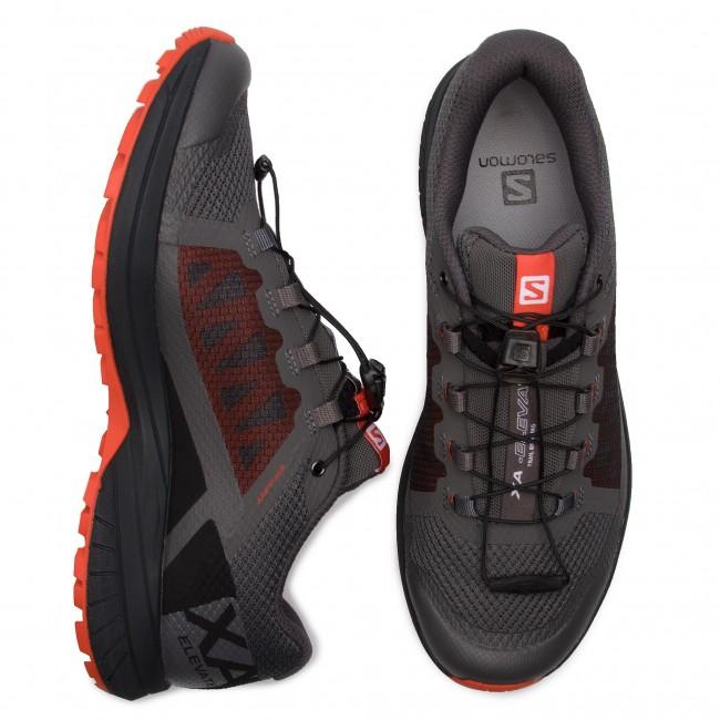 Shoes SALOMON Xa Elevate 406115 27 V0 MagnetBlackCherry Tomato