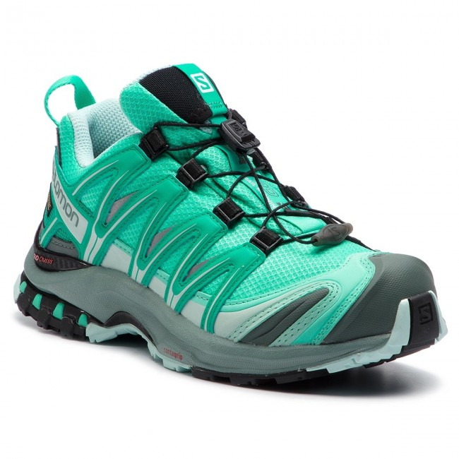 bas prix 705ea 9460a Shoes SALOMON - Xa Pro 3D Gtx W GORE-TEX 406722 20 V0 Electric Green/Vivid  Green/Icy Morn