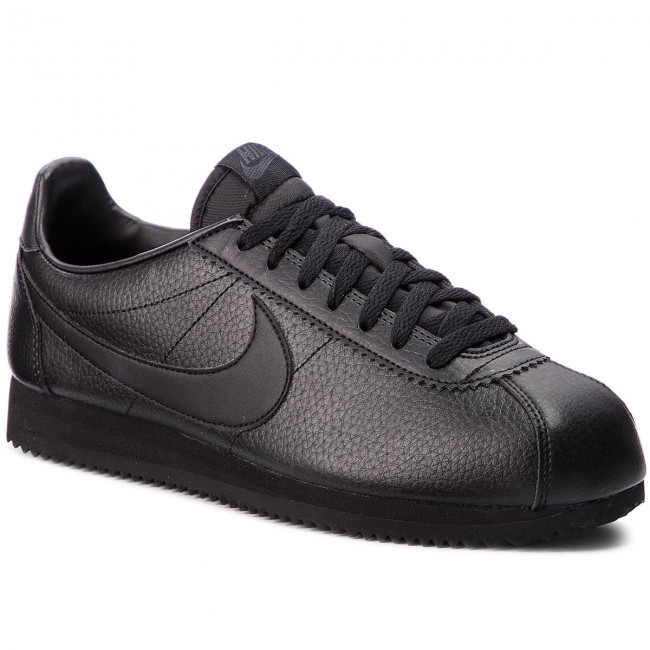 Shoes NIKE - Classic Cortez Leather 749571 002 Black Black Anthracite 3120f3510b2