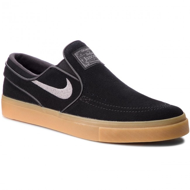f8d7f0e4b Shoes NIKE. Zoom Stefan Janoski Slip 833564 005 Black Gunsmoke Gum Gum  Light Brown