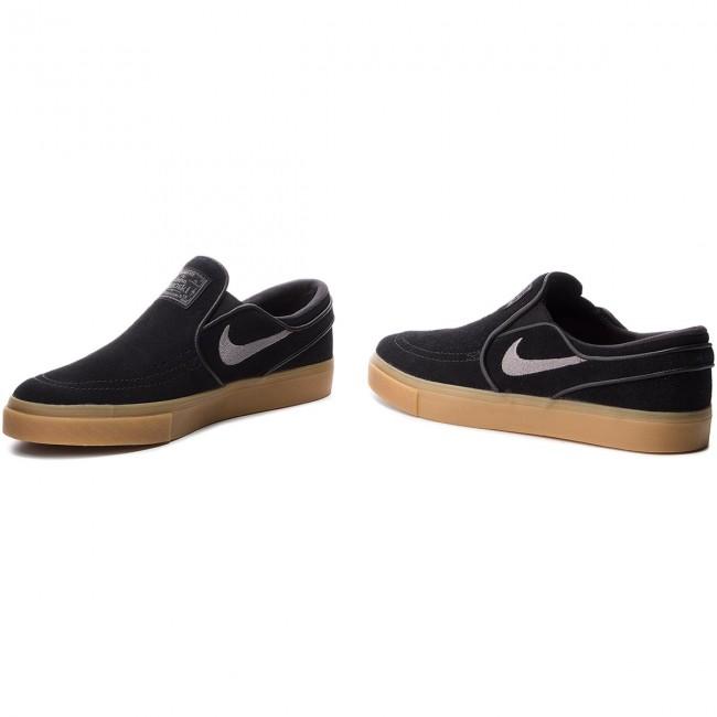 b43ecac39198 Shoes NIKE - Zoom Stefan Janoski Slip 833564 005 Black Gunsmoke Gum Gum  Light