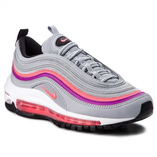 f8656ba00684b Shoes NIKE - Air Max 97 921733 009 Wolf Grey Solar Red - Sneakers ...