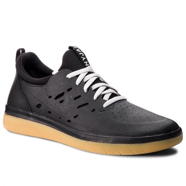 c0abffed3232f Shoes NIKE - Sb Nyjah Free AA4272 002 Black Black Gum Light Brown ...