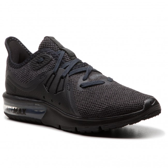 f16547bf7a Shoes NIKE - Air Max Sequent 3 908993 010 Black/Anthracite - Indoor ...