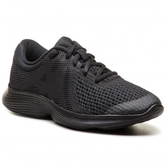 c25d39443b6 Shoes NIKE - Revolution 4 (GS) 943309 004 Black Black - Indoor ...