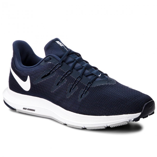 43264fb6545 Shoes NIKE - Quest AA7403 400 Obsidian White Midnight Navy - Indoor ...