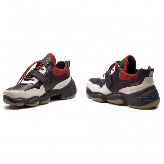 Low Sneakers 1574 CB BX BRONX WhiteBlackWine 66236 Sneakers qHHwva0