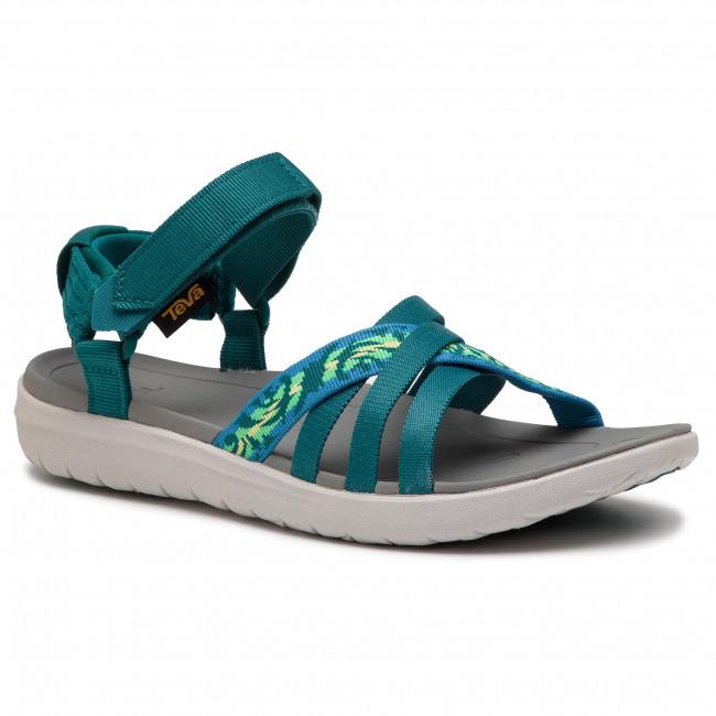 14eb56c65 Sandals TEVA - Sanborn Sandal 1015161 Thena Deep Lake Multi - Casual ...