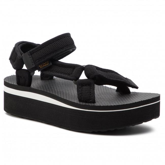417c44bfdb2f Sandals TEVA - Flatform Universal Mesh Print 1102451 Black - Wedges ...