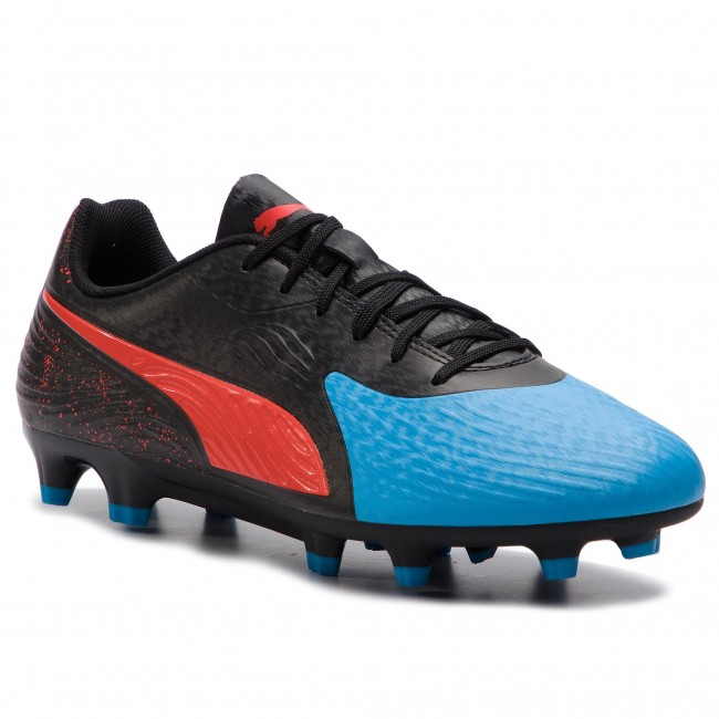 7989cf7464c Shoes PUMA - One 19.4 Fg Ag 105492 01 Bleu Azur Red Blast Black ...