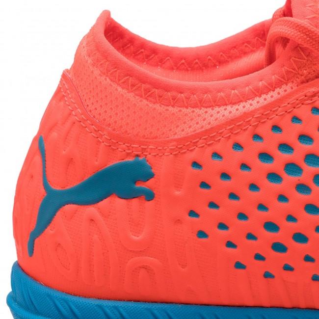 Shoes PUMA Future 19.4 TT 105548 01 Red BlastBleu Azur