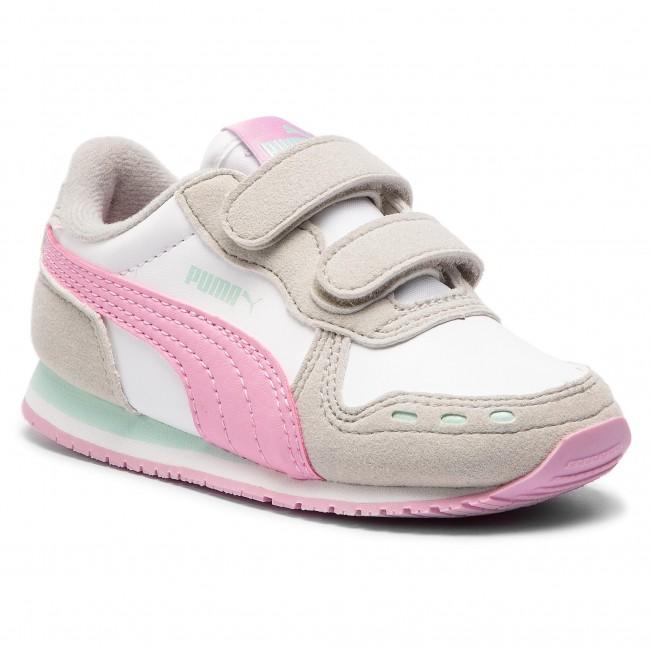 Sneakers PUMA - Cabana Racer Sl V Inf 351980 73 Puma White/Grey Violet