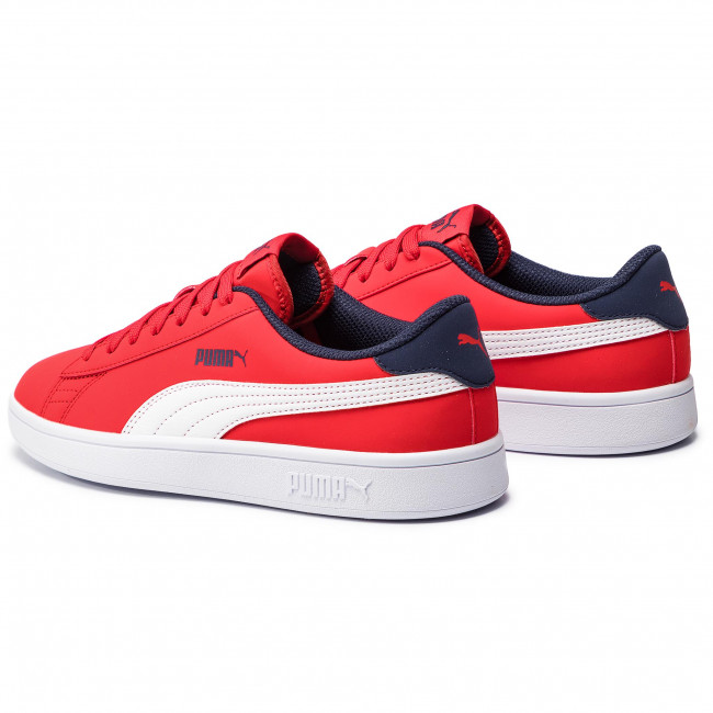 Sneakers PUMA - Smash V2 Buck Jr 365182 07 High Risk Red Puma White ... 3af733ec5
